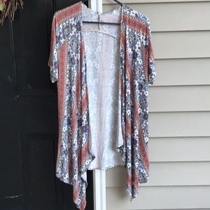 Another nice waterfall short sleeve cardigan!